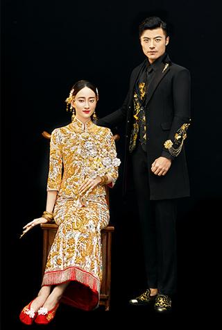 中式婚纱照