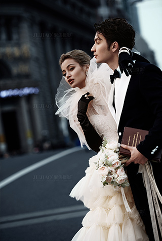 城市旅行婚纱照